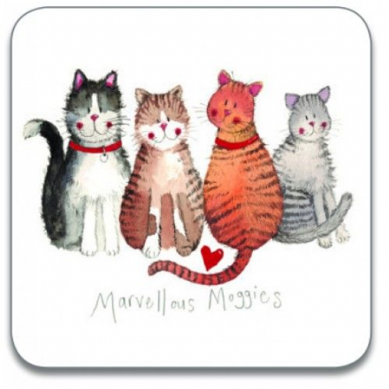 Marvellous Moggies Coaster